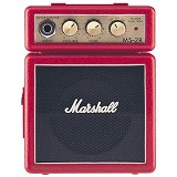 MARSHALL Guitar Amplifier Minimicro [MS-2R] - Red